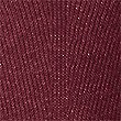 Ribbed Bubble Sleeve Round Neck Jumper, DARK GRAPE, swatch