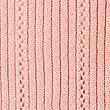 Pure Cotton Vertical Pointelle Jumper, SOFT PEACH, swatch