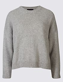 Boxy Crew Neck Jumper
