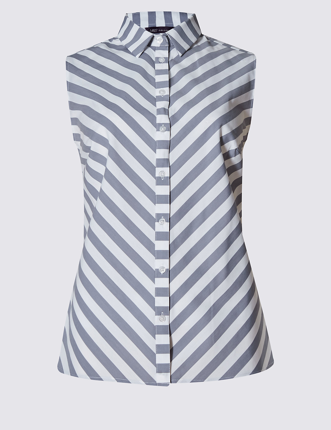 Chevron Striped Shirt