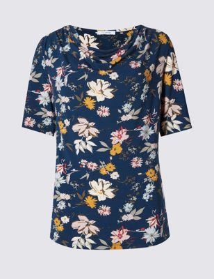 Однотонная блузка Non-Iron с длинным рукавом и скрытой планкой