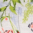 Floral Print Long Sleeve Sweatshirt, GREY MIX, swatch