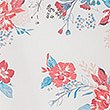 Floral Foil Print Short Sleeve T-Shirt, IVORY MIX, swatch