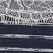 Striped Lace Trim Long Sleeve T-Shirt, NAVY MIX, swatch