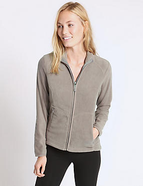 Anti Bobble Fleece Jacket, MINK, catlanding