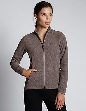 Anti Bobble Fleece Jacket, GREY, catlanding