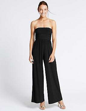 Multiway Sleeveless Jumpsuit, BLACK, catlanding