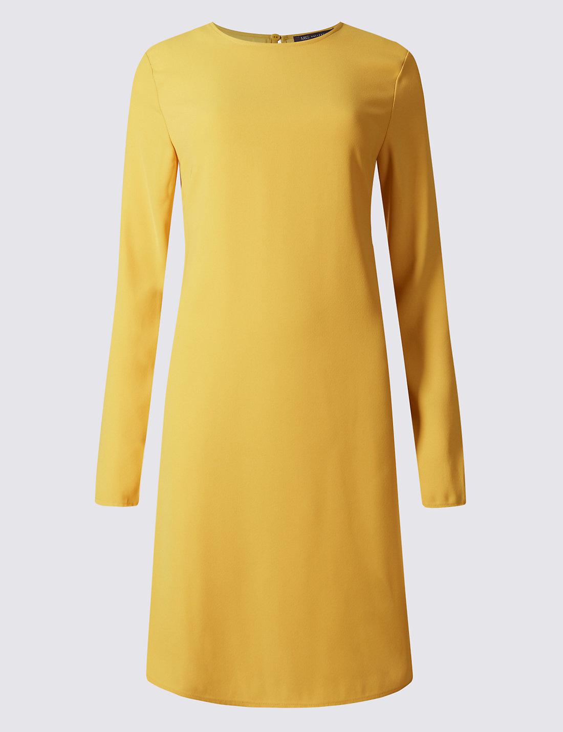 Woven Long Sleeve Swing Dress | M&S