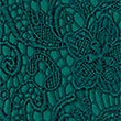 Floral Lace Short Sleeve Bodycon Dress, TEAL, swatch
