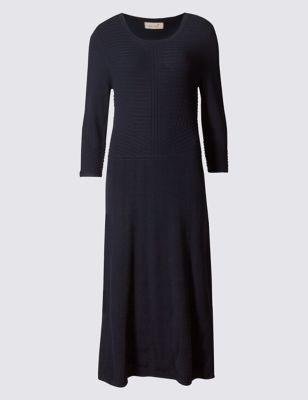 Текстурное платье с U-горловиной Per Una T426970J
