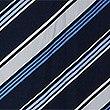 Striped Slip Dress, BLUE MIX, swatch