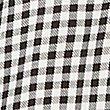 Gingham Long Sleeve Shirt Dress, BLACK MIX, swatch