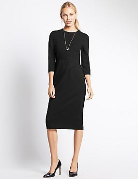 Bodycon Dress, BLACK, catlanding