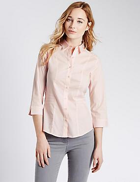 Overhemd met 3/4-mouw, LICHTROZE, catlanding