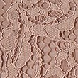 Cotton Blend Lace Short Sleeve Shell Top, BLUSH, swatch