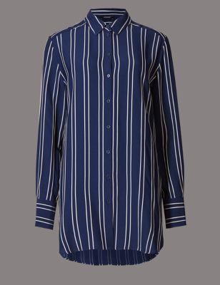 Рубашка в полоску с длинным рукавом Autograph T435313T