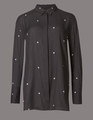 Блузка элегантная с завязками сзади Autograph T435333T