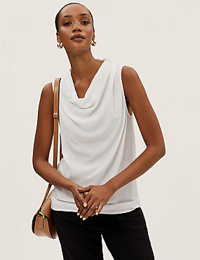 Pure Silk Long Sleeve Shirt, IVORY, catlanding