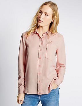 Long Sleeve Shirt, PINK, catlanding