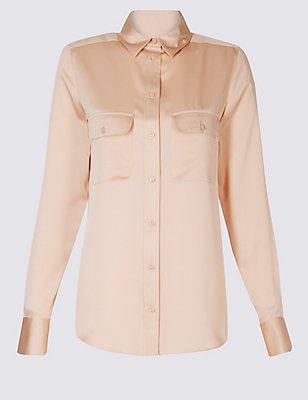Long Sleeve Shirt, BLUSH, catlanding