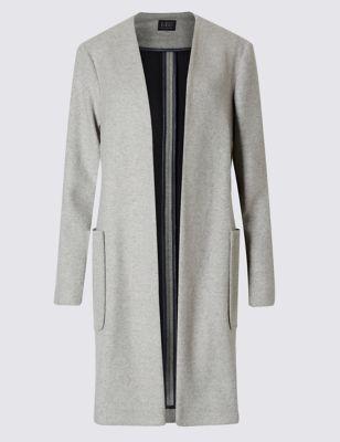 Открытое пальто свободного кроя M&S Collection T490912