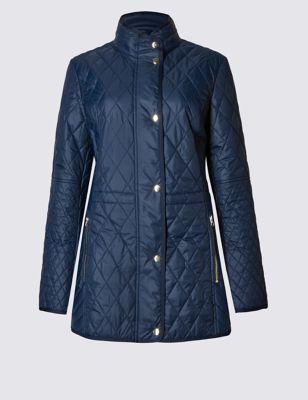 Стёганое пальто Stormwear™ с карманами на молнии Classic T491252R