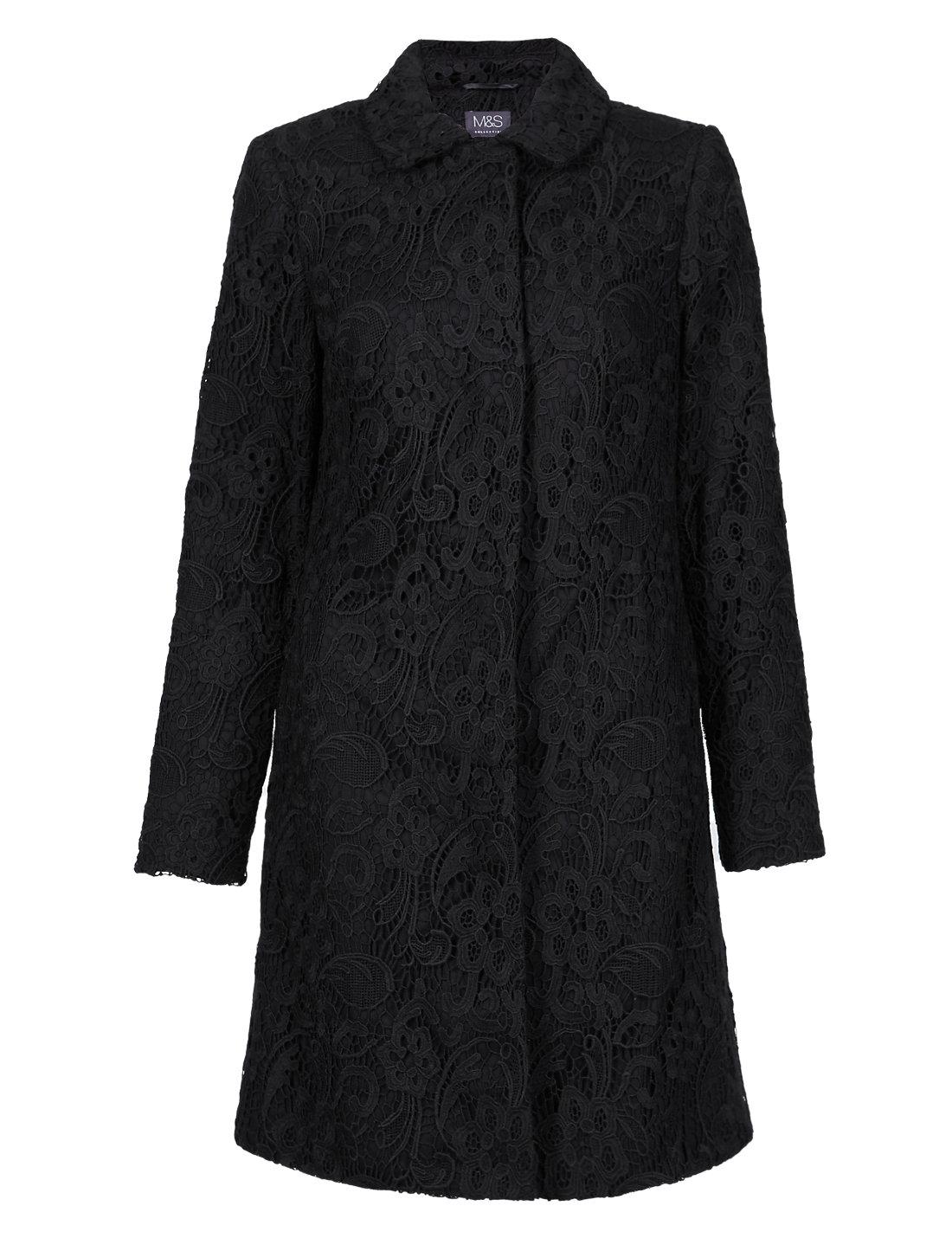 Floral lace coat ms floral lace coat izmirmasajfo Images