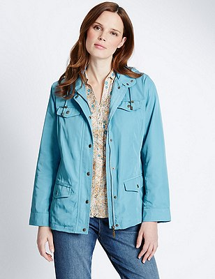 Harrington Jacket with Stormwear™, BLUE, catlanding