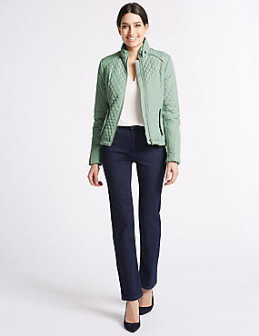 Quilted Jacket with Stormwear™, GREEN, catlanding
