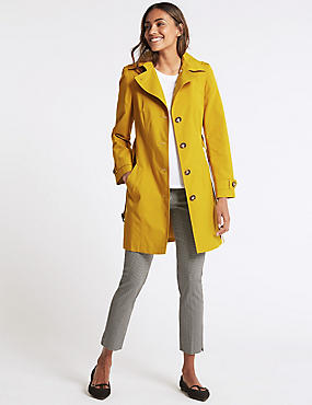 Trench Coat with Stormwear™, WINTER LIME, catlanding