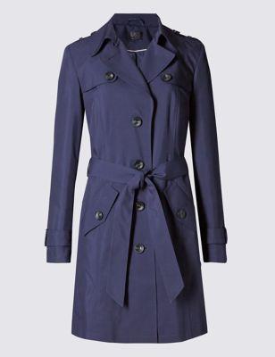 Макинтош Stormwear™ с ремнём от Marks & Spencer