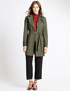 Belted Trench with Stormwear™, THYME, catlanding