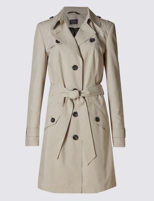 Макинтош Stormwear™ с ремнём M&S Collection T493298