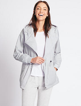 Asymmetric Jacket with Stormwear™, PEARL GREY, catlanding