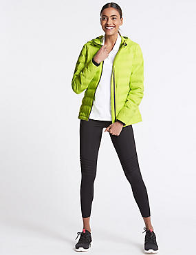 Padded & Quilted Jacket with Stormwear™, LIME, catlanding