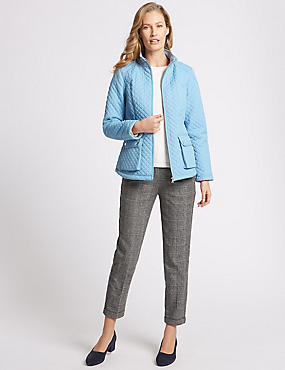 Padded & Quilted Jacket with Stormwear™, SOFT BLUE, catlanding