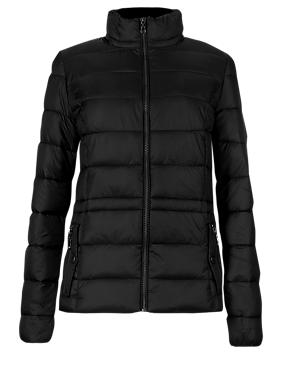 Zipped Through Padded Jacket with Stormwear™