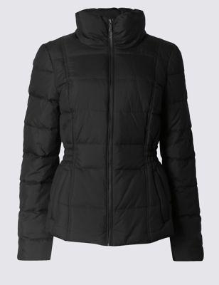 Короткая утеплённая куртка на молнии