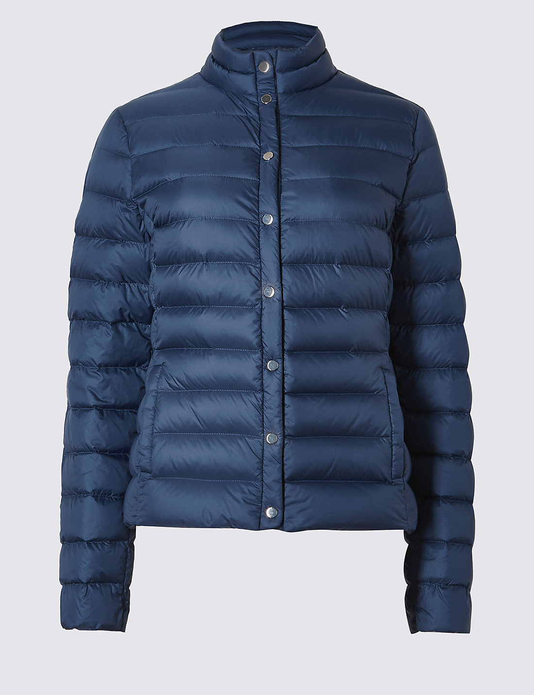 Down & Feather Jacket with Stormwear™ | M&S