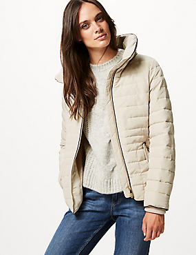 Padded Jacket with Stormwear™, IVORY, catlanding