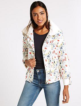 Shortie Anorak Jacket with Stormwear™, NATURAL MIX, catlanding