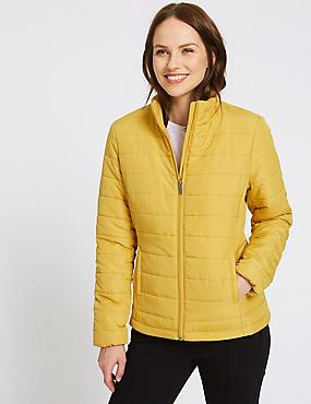 Padded Jacket, WINTER LIME, catlanding
