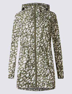 Парка с пятнистым принтом Stormwear™ M&S Collection T493703A