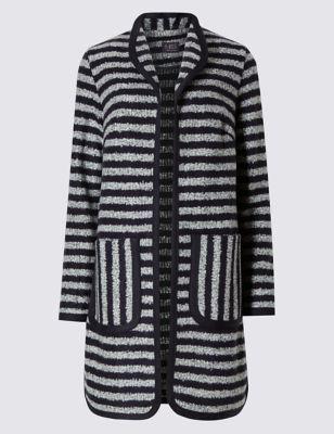 Текстурное пальто с добавлением шерсти M&S Collection T493714