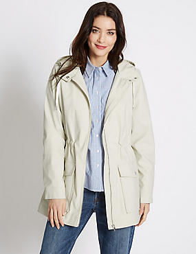 Twin Pocket Anorak Jacket, STONE, catlanding