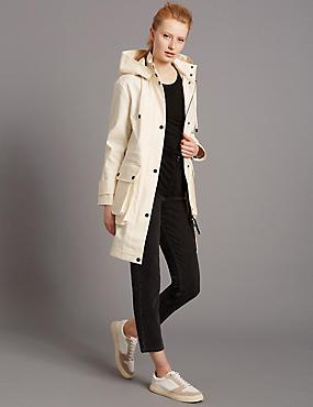Pure Cotton Anorak with Stormwear™, ECRU, catlanding