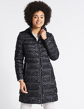 Down & Feather Padded Jacket with Stormwear™, GREY MIX, catlanding