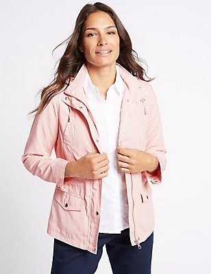 Anorak Jacket with Stormwear™, SOFT PINK, catlanding