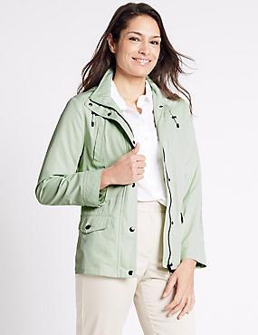 Anorak Jacket with Stormwear™, LIGHT APPLE, catlanding