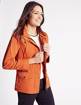 Anorak Jacket with Stormwear™, BURNT ORANGE, catlanding
